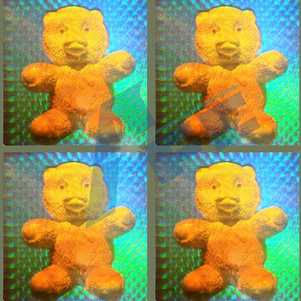 真3D防伪标签(需三维模型)