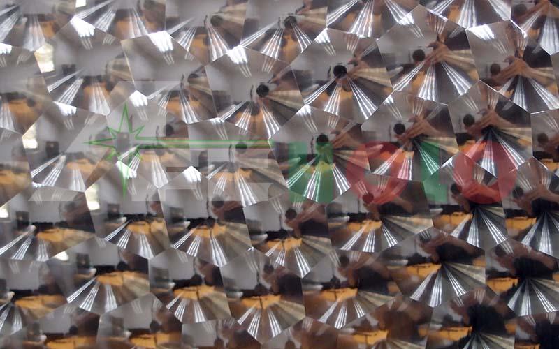水立方猫眼膜(镀铝)