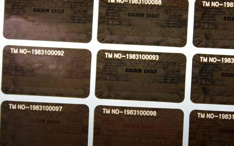 激光化光雕通标签